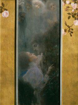 """Gustav Klimt """"Liebe"""" 44 x 60 cm"""