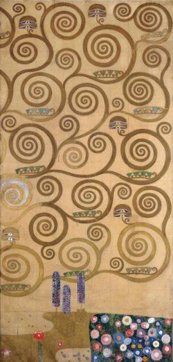 """Gustav Klimt """"Lebensbaum"""" 120 x 195 cm"""