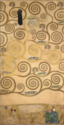 """Gustav Klimt """"Der Lebensbaum"""" 104 x 198 cm"""