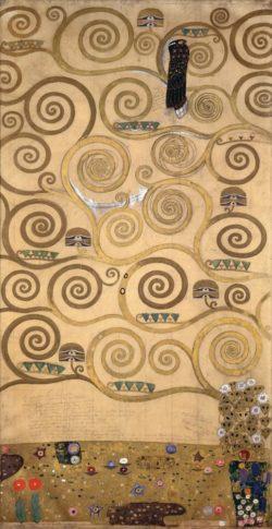 """Gustav Klimt """"Der Lebensbaum"""" 105 x 198 cm"""