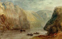 """William Turner """"Lurleiberg"""" 20 x 31 cm"""