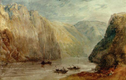 """William Turner """"Lurleiberg"""" 20 x 31 cm 1"""
