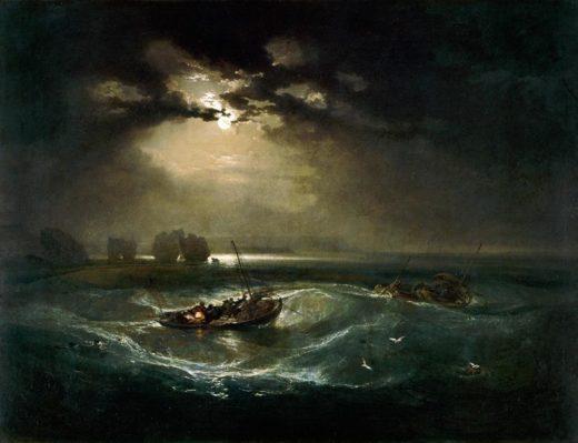 """William Turner """"Fischer zur See"""" 91 x 122 cm 1"""