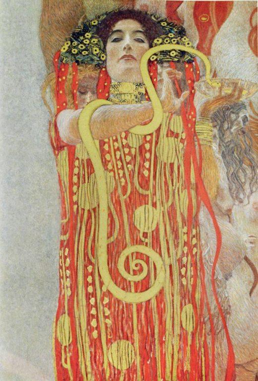 "Gustav Klimt ""Medizin (Ausschnitt)"" 300 x 430 cm 1"