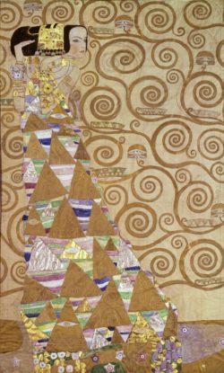 """Gustav Klimt """"Die Erwartung"""" 115 x 194 cm"""