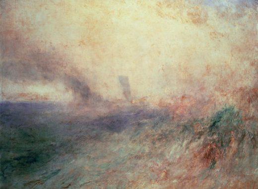 "William Turner ""Küste bei Folkestone"" 88 x 117"