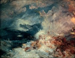 "William Turner ""Feuer auf See"" 172 x 221 cm"