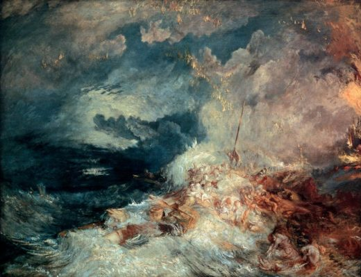 "William Turner ""Feuer auf See"" 172 x 221 cm 1"