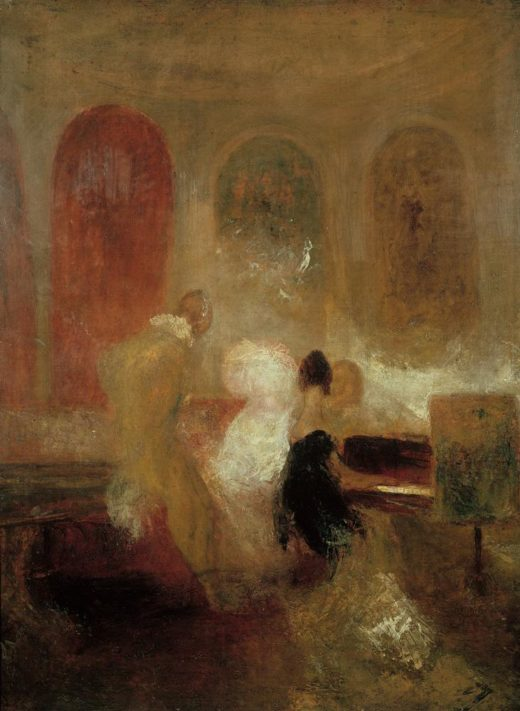 """William Turner """"Soiree in East Cowes Castle"""" 121 x 91 cm 1"""