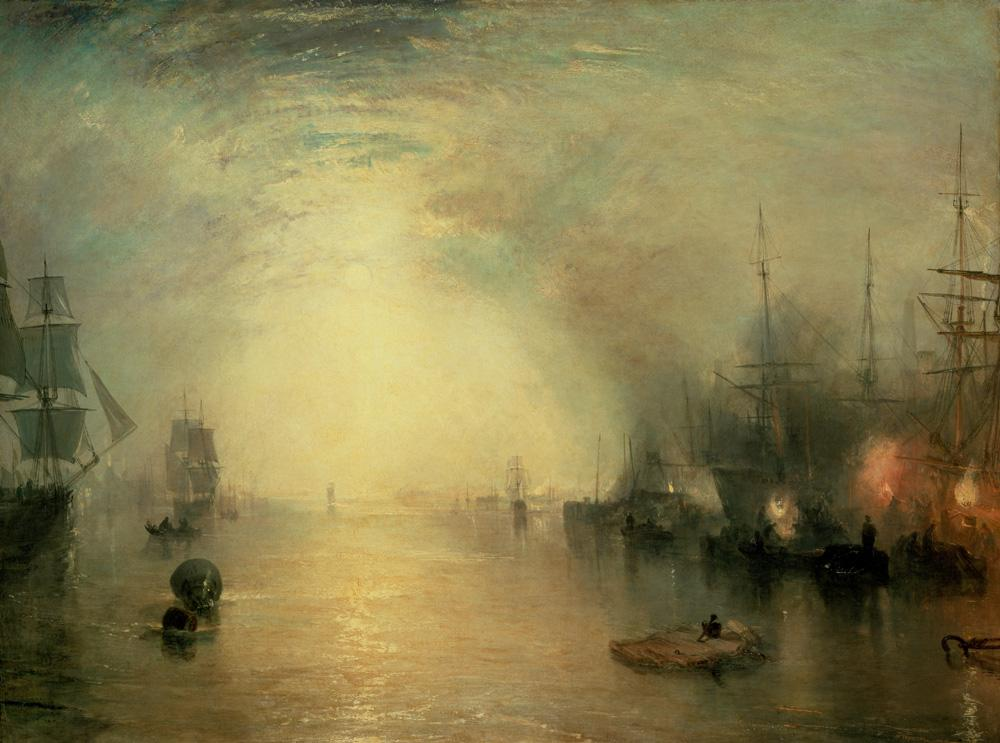 "William Turner ""Keelmen Heaving in Coals"" 92 x 123 cm"