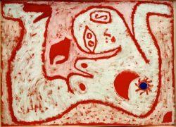"""Paul Klee """"ein Weib für Götter"""" 62 x 44 cm"""