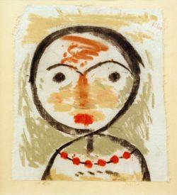 "Paul Klee ""Frägt sich"" 28 x 31 cm"