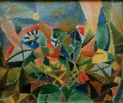 "Paul Klee ""Blumenbeet"" 34 x 28 cm"