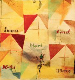 """Paul Klee """"Der bayrische Don Giovanni"""" 21 x 23 cm"""