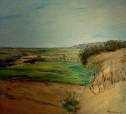"""Max Liebermann """"Dünenlandschaft"""" 71 x 65 cm"""