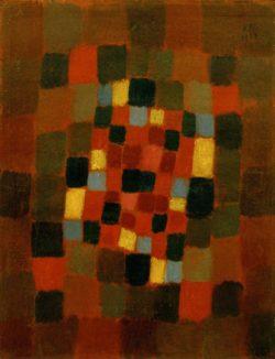 "Paul Klee ""Buntes Beet"" 26 x 34 cm"
