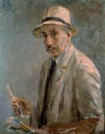 """Max Liebermann """"Selbstbildnis"""" 73 x 92 cm"""
