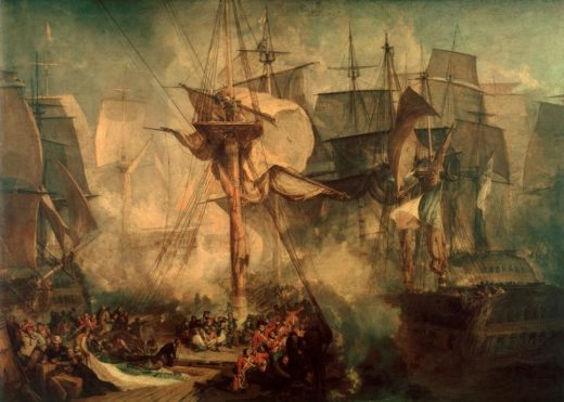 "William Turner ""Die Schlacht bei Trafalgar"" 171 x 239 cm 1"