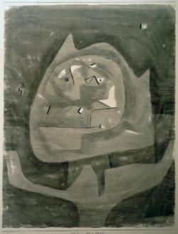 """Paul Klee """"Götze im Fieberland"""" 45 x 30 cm"""