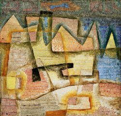 """Paul Klee """"Felsige Küste"""" 53 x 51 cm"""