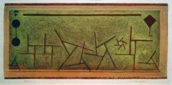 """Paul Klee """"Abstraktes Ballett"""" 53 x 25 cm"""