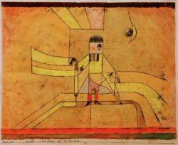 """Paul Klee """"Bartolo: La vendetta, Oh! la vendetta!"""" 31 x 24 cm"""