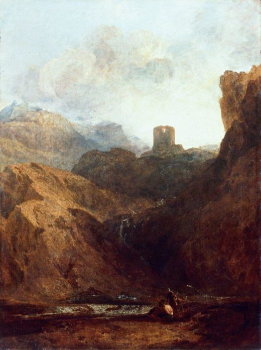 "William Turner ""Dolbadarn Castle"" 119 x 90 cm 1"