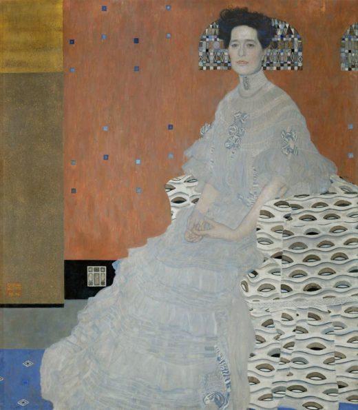 """Gustav Klimt """"Fritza Riedler"""" 133 x 153 cm 1"""