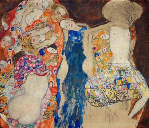 """Gustav Klimt """"Die Braut"""" 190 x 166 cm 1"""