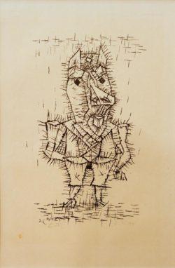 """Paul Klee """"Esel"""" 15 x 24 cm"""