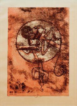 """Paul Klee """"Der Verliebte"""" 19 x 27 cm"""