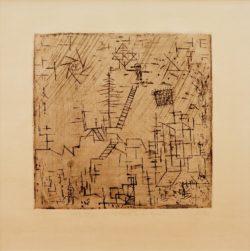 """Paul Klee """"Gaukler im April"""" 20 x 19 cm"""