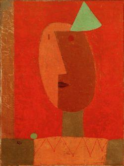 """Paul Klee """"Clown"""" 51 x 67 cm"""