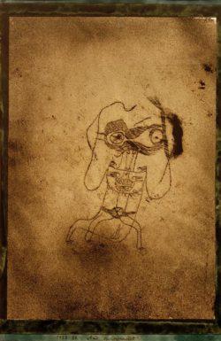 "Paul Klee ""Ami (ein Gedenkblatt)"" 22 x 31 cm"