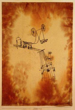 "Paul Klee ""Begegnung"" 31 x 44 cm"
