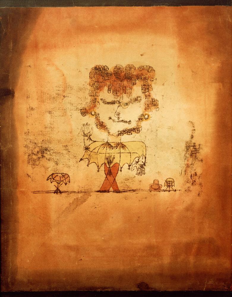 "Paul Klee ""Sganarelle"" 19 x 49 cm"