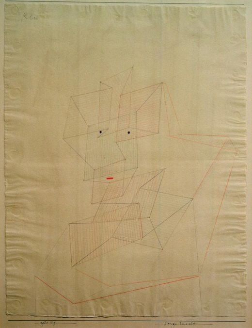 """Paul Klee """"Bange Einsicht"""" 47 x 61 cm 1"""