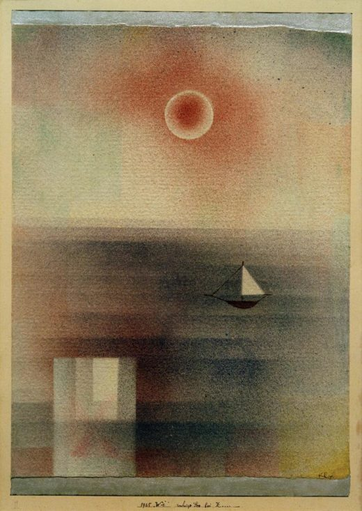 """Paul Klee """"Ruhige See bei Z…"""" 21 x 28 cm 1"""
