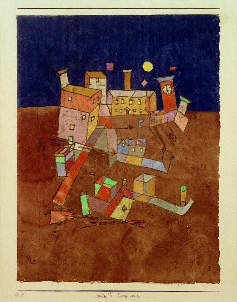 """Paul Klee """"Partie aus G."""" 24 x 33 cm"""