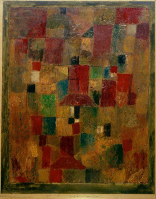 "Paul Klee ""Herbstsonniger Ort"" 35 x 44 cm 1"