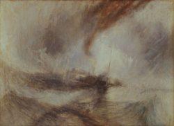 "William Turner ""Schneesturm (Snow Storm)"" 91 x 122 cm"
