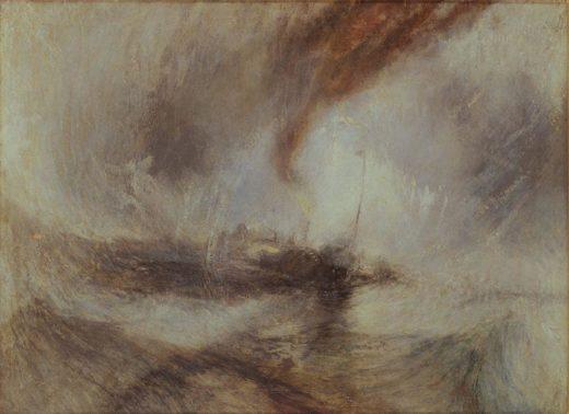 "William Turner ""Schneesturm (Snow Storm)"" 91 x 122 cm 1"