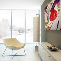 Wassily-Kandinsky-Roter-Fleck-Moderner-Einrichtungsstil